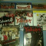 My Yakuza collection!