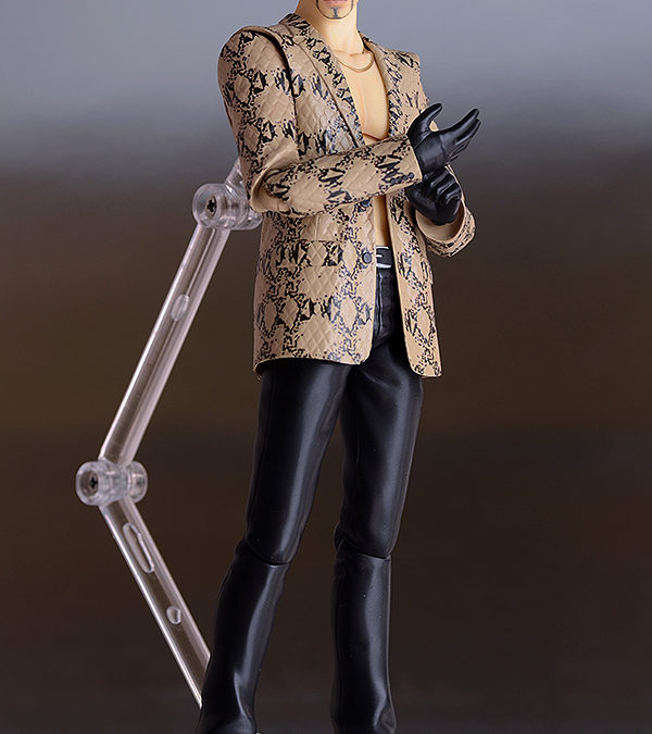 WonFest 2016 fully painted Majima Figma!