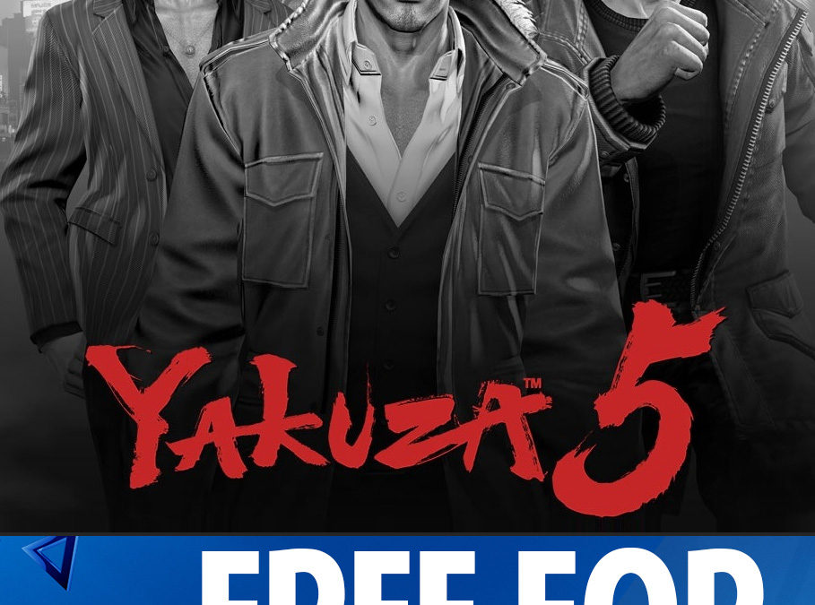 Yakuza 5 Free for Playstation Plus