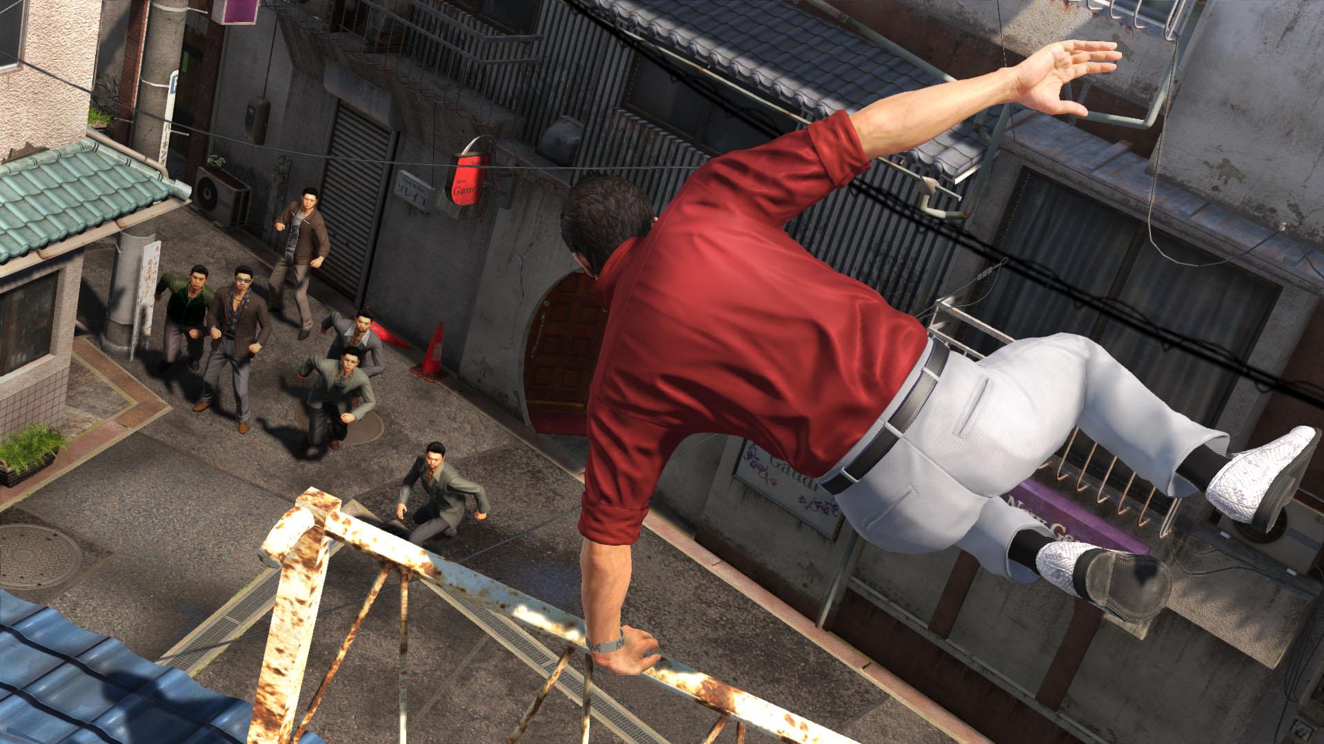 Yakuza 6 Jump