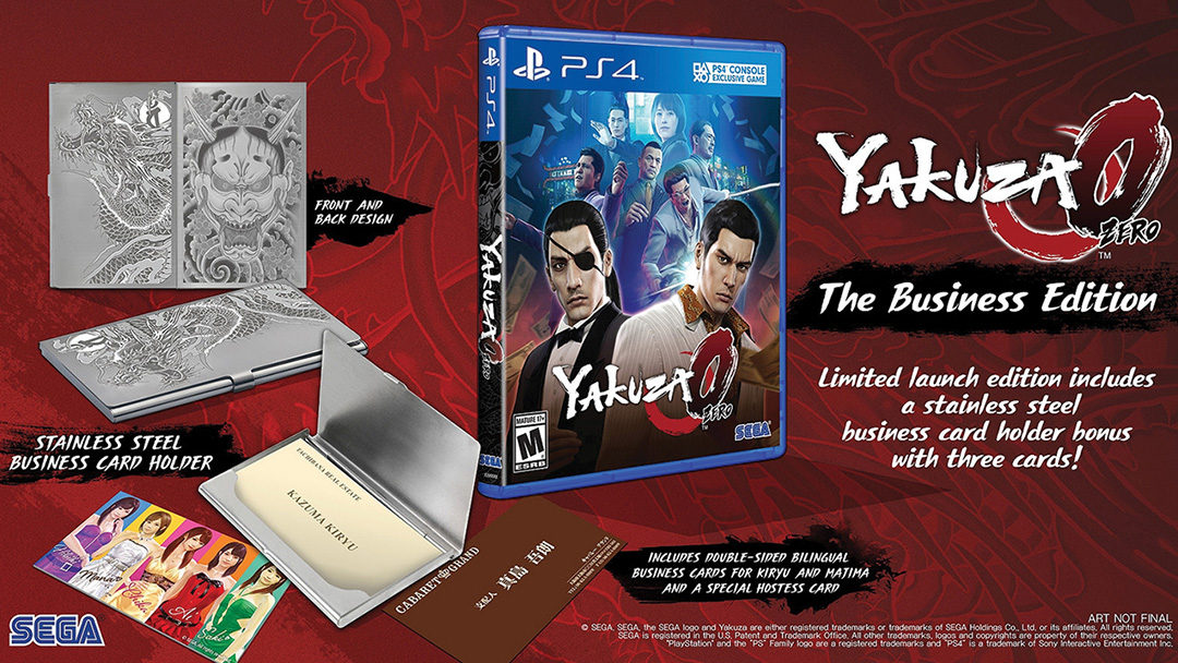 "Yakuza 0 ""The Business Edition"" announced. Digital pre-orders open today!"