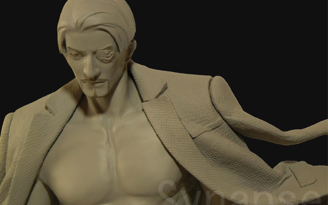 New Majima Statue Prototype to be shown at Mega Hobby Expo Autumn 2016