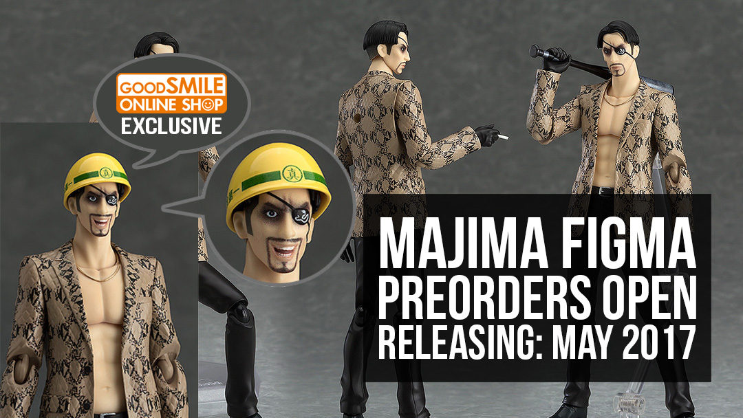Majima Figma Preorders Now Open!