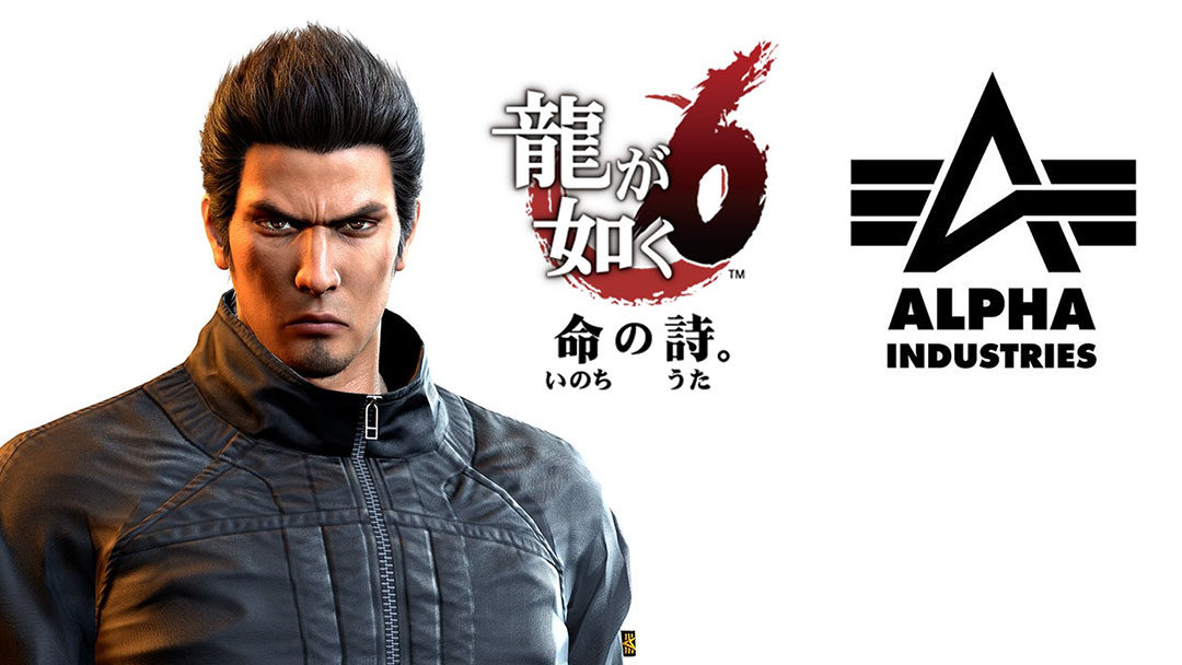 ALPHA Industries × Ryu Ga Gotoku 6! [tie in]