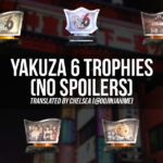 Yakuza 6 Trophy List (No spoilers)