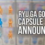 New Official Yakuza Capsule Toys