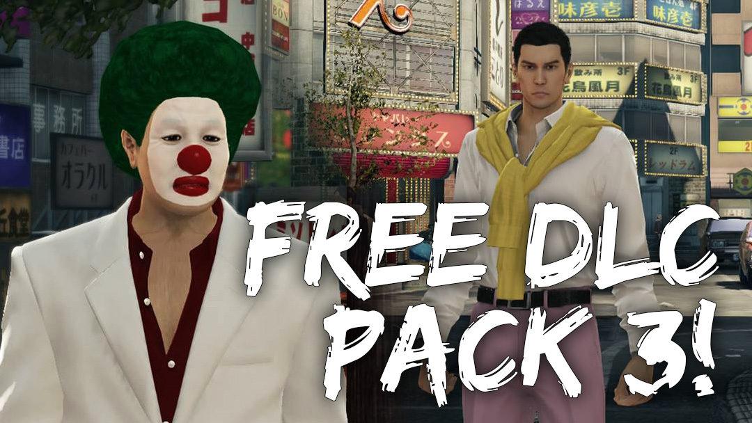 Yakuza 0 Free DLC3 Out Now!