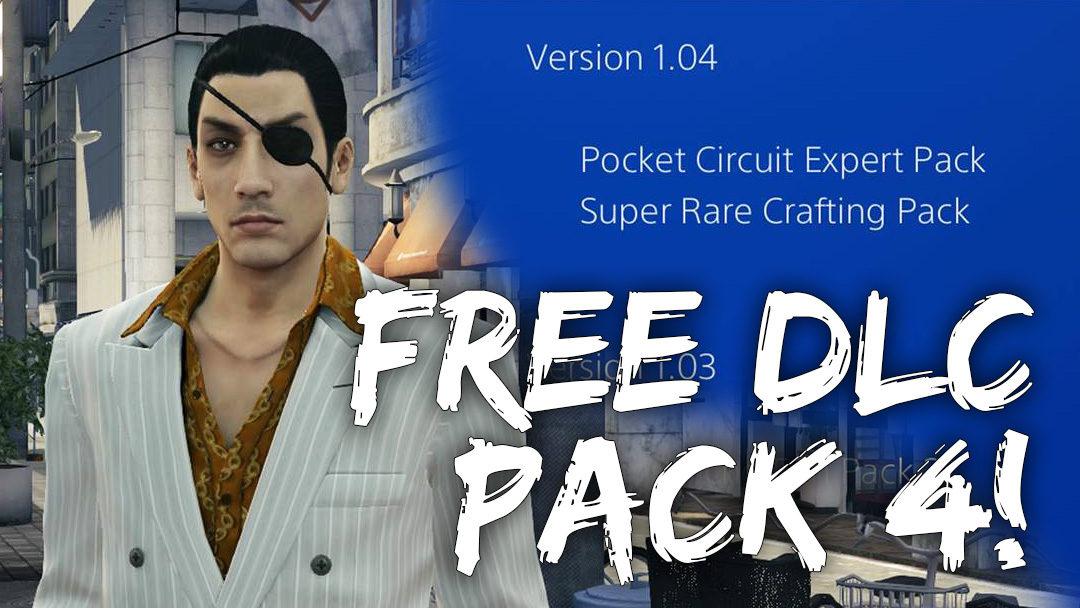 Yakuza 0 Free DLC4 Out Now!
