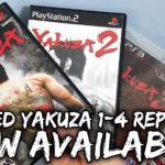 Limited Reprints of Yakuza 1 – 4 Now Available!