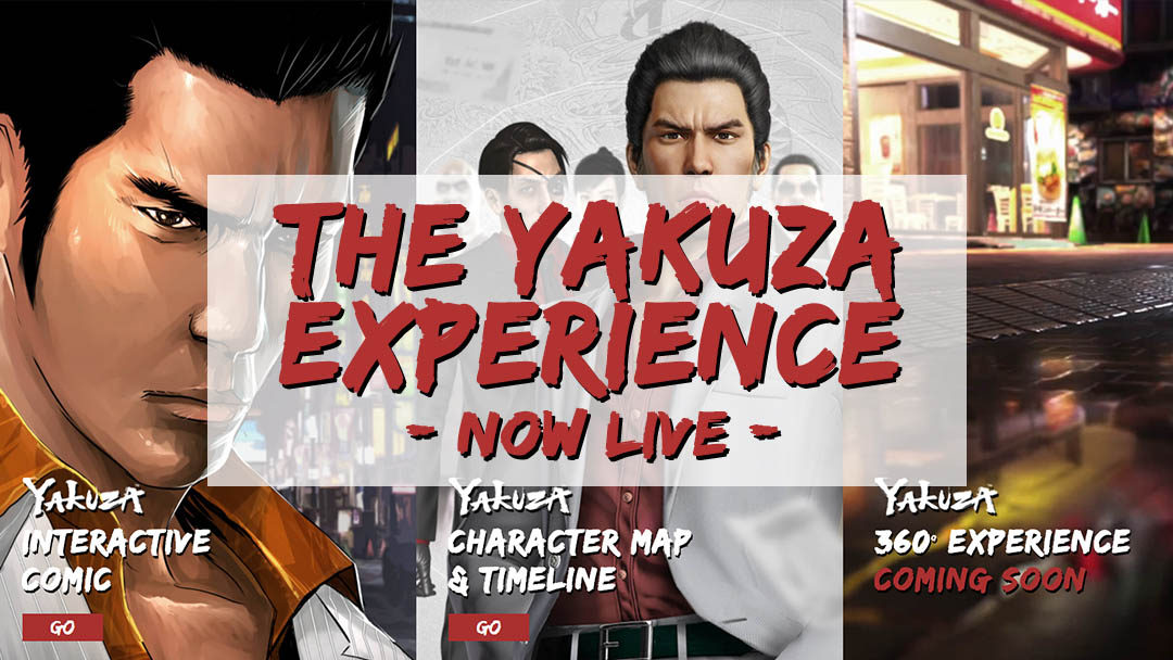 "SEGA Launches ""The Yakuza Experience"" Website!"
