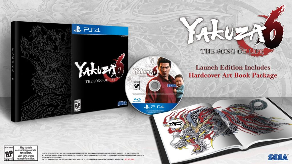 Yakuza 6 Will Release March 20, 2018 with a fancy ...