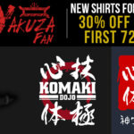 New Yakuza Fan Shirts for October 2017!