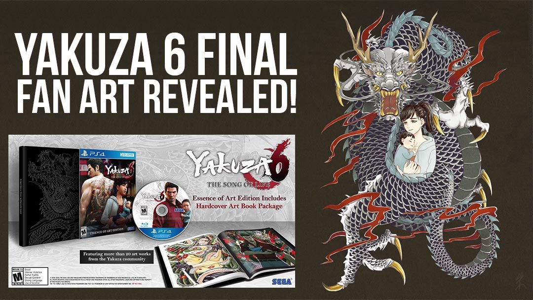 Yakuza 6 Artbook Winner Announced!