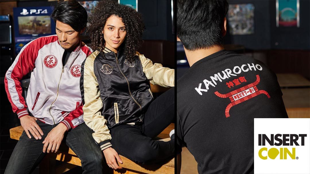 Insert Coin Clothes Opens Preorders for Premium Yakuza Clothing