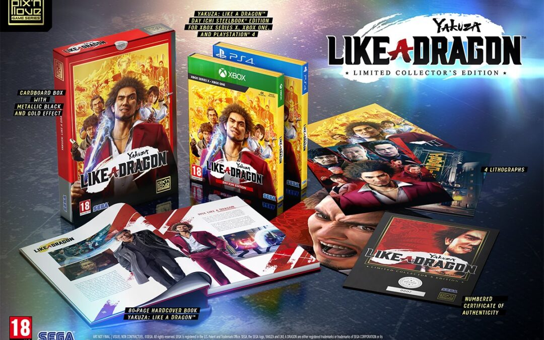 Yakuza: Like a Dragon Collector's Edition Coming to Europe!