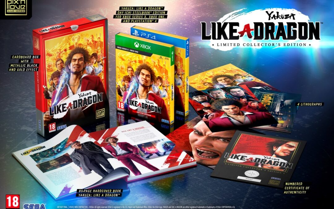 Contest: Win Yakuza: Like a Dragon Special Edition