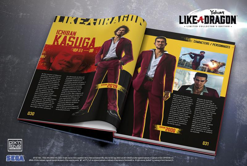Yakuza: Like a Dragon Limited Edition Delayed but adding Bonus Content!