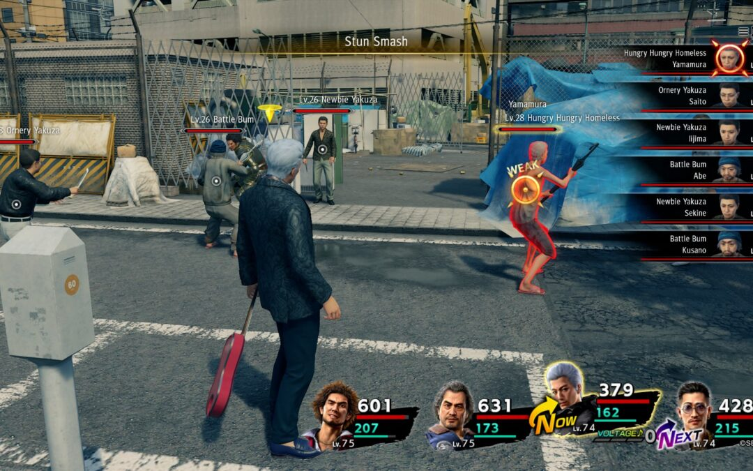 Yakuza: Like a Dragon Patch 1.03 Fixes Enemy Weaknesses bug!
