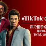 Ryu Ga Gotoku TikTok Contest Starts March 26 2021