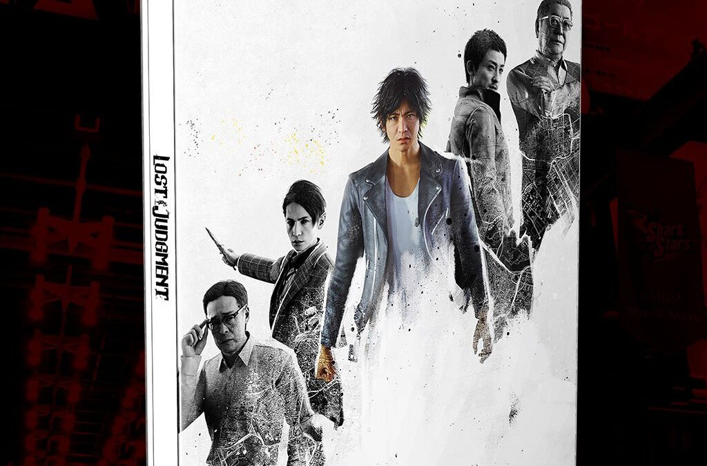 Best Buy Getting Lost Judgment Steelbook; $59.99 USD at launch